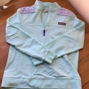 Vineyard Vines Linen Shoulder Shep Shirt